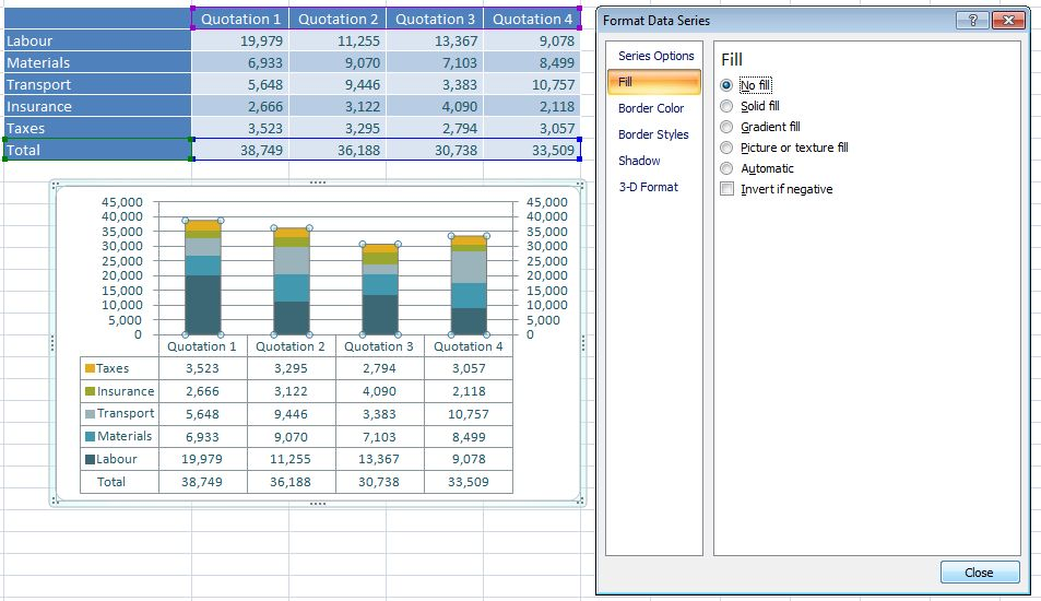 how to get 10 of total in excel